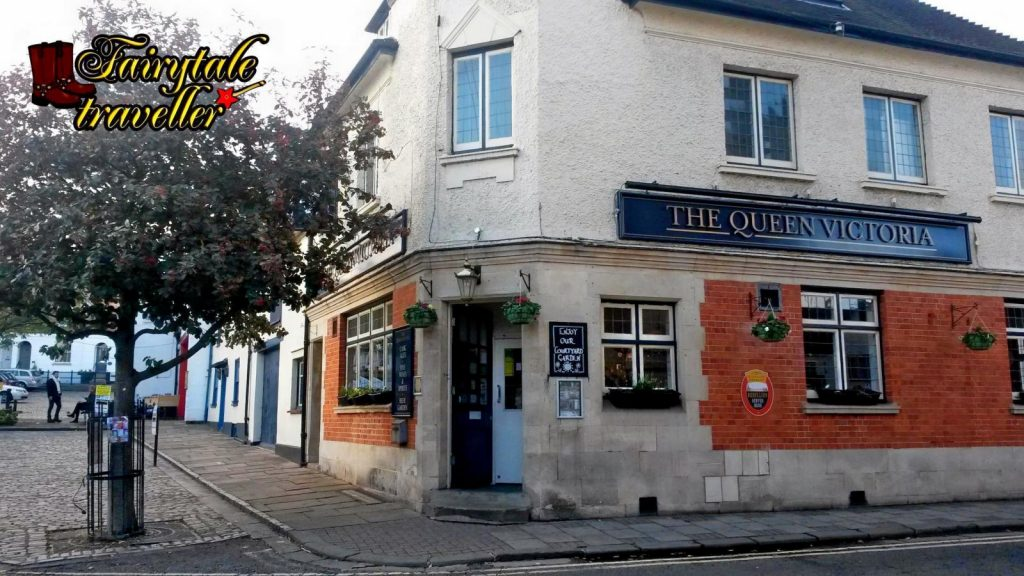 The Queen Victoria, one of the oldest restaurants in town