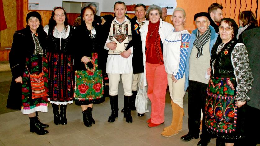 Christmas in Bucium, Transilvania, 2014