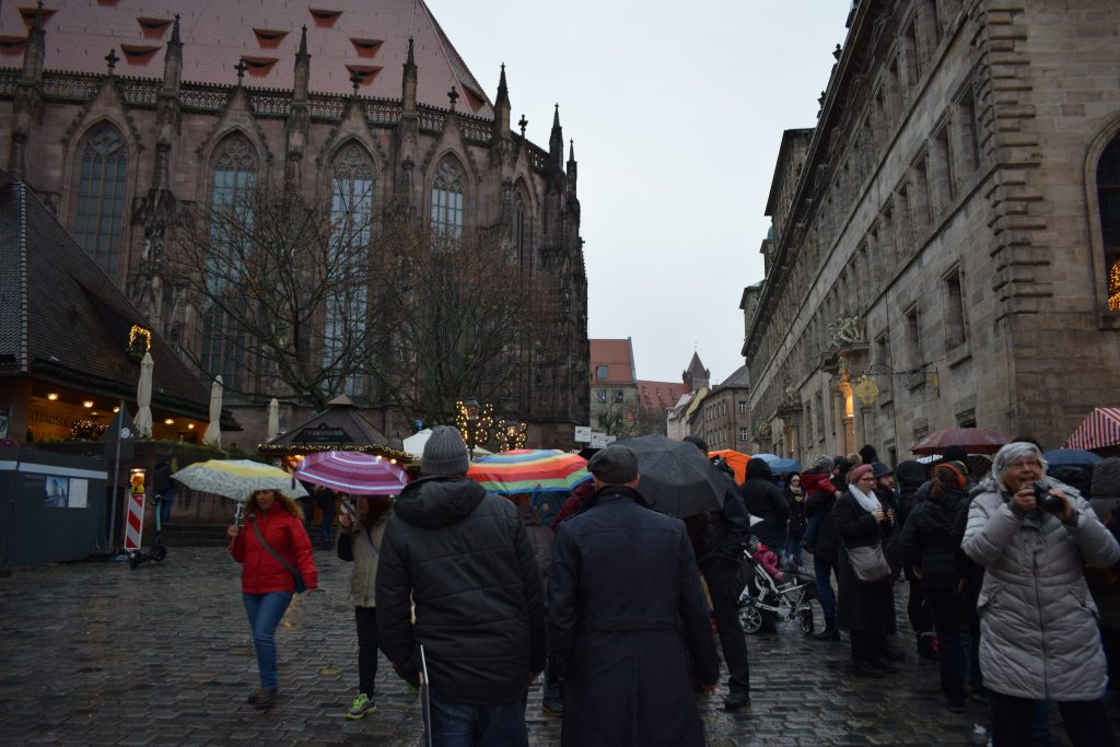 Trip to Nuremberg town centre and Christmas market