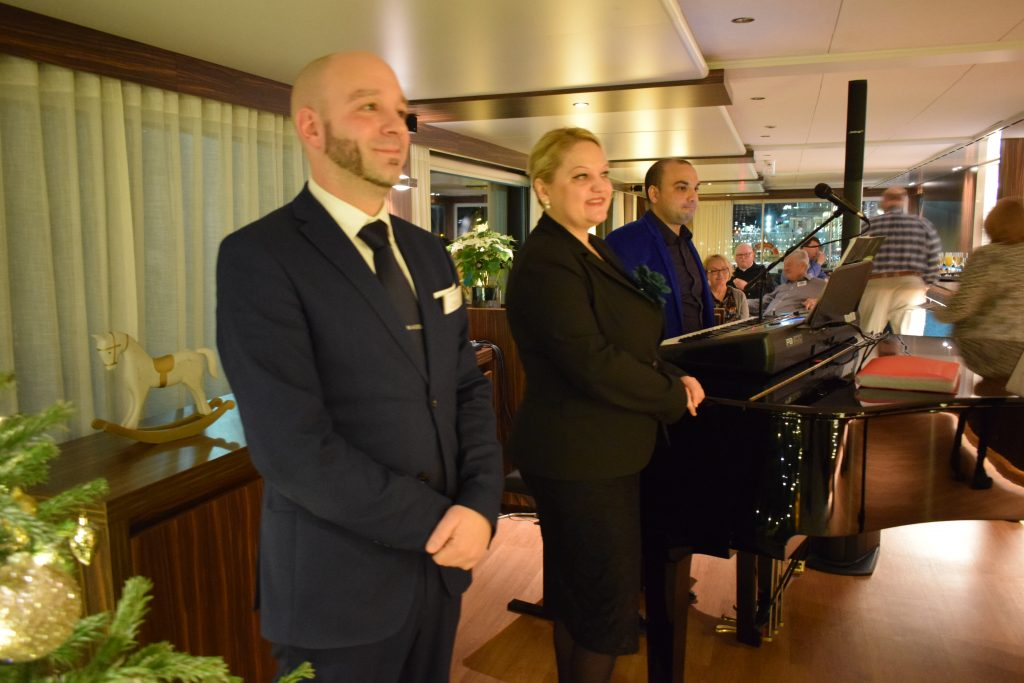 On board of Amadeus Star, December 2019