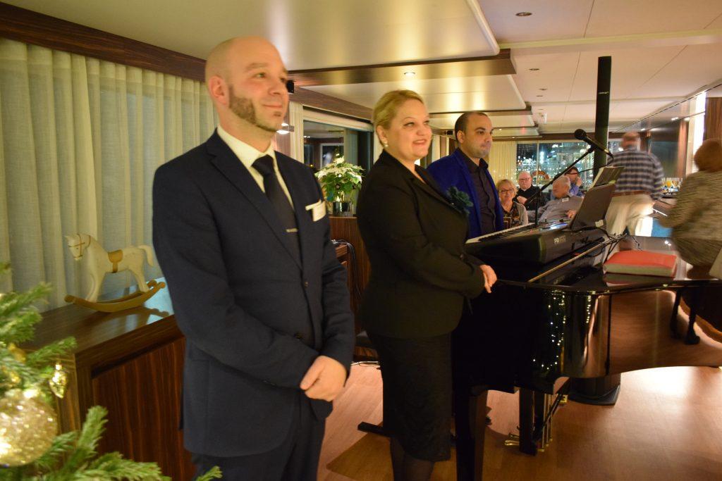 On board of Amadeus Star, December 2019