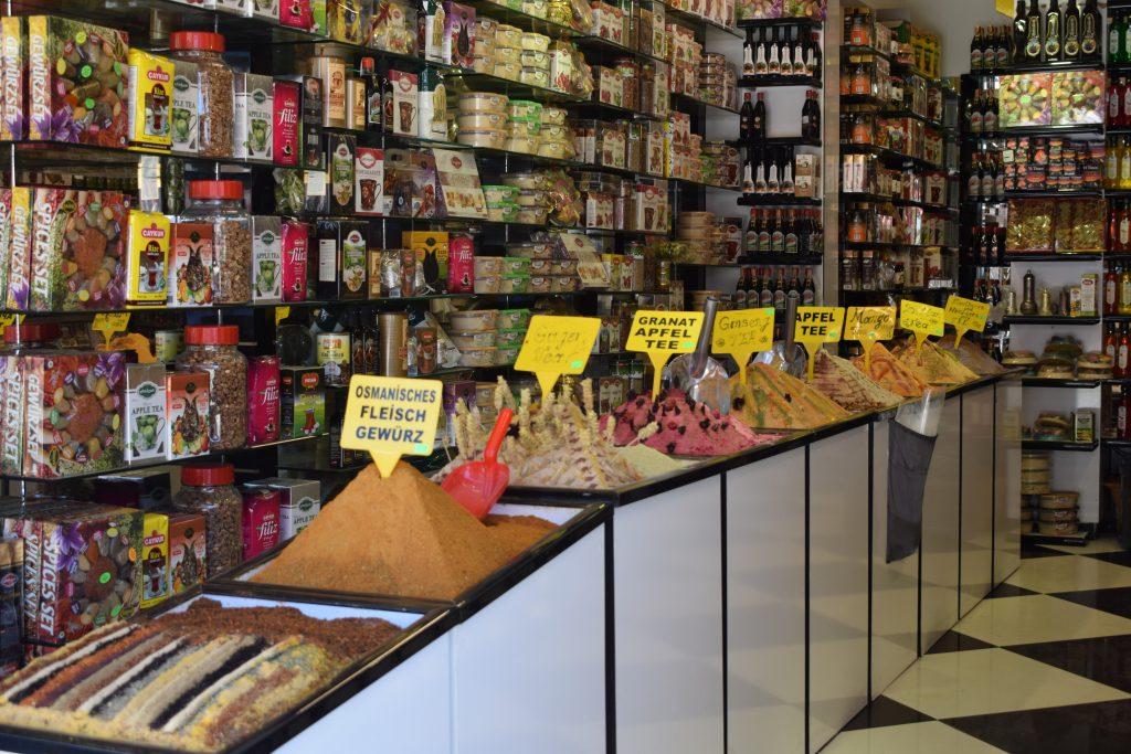 Spices and souvenir shop, SIDE