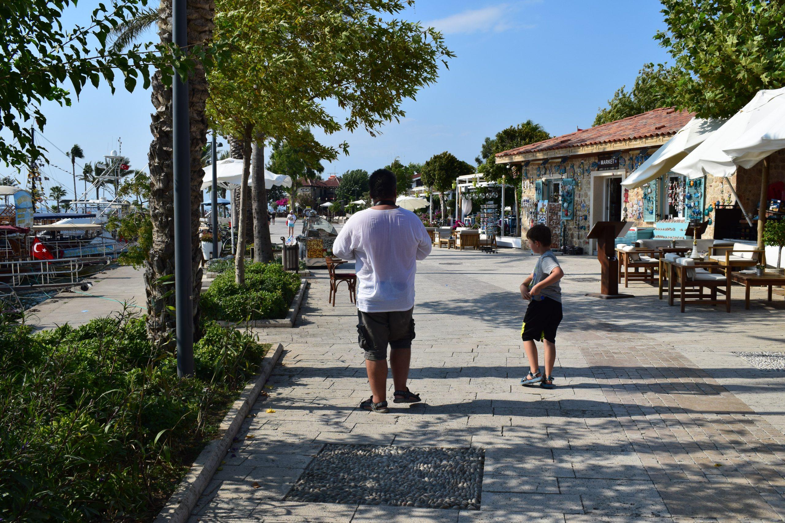 SIDE walking area